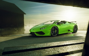 Картинка Lamborghini, суперкар, кабриолет, Spyder, спайдер, ламборгини, Novitec Torado, Huracan, хуракан