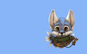 Картинка арт, детская, Furry