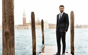 Картинка модель, костюм, актер, мужчина, Jamie Dornan, Джейми Дорнан