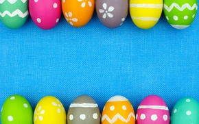 Картинка colorful, Пасха, background, spring, eggs, Happy Easter, Easter eggs