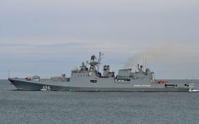 Обои проек11356, Адмирал Григорович, сторожевой, корабль, фрегат, ВМФ