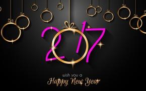 Картинка Новый Год, new year, happy, decoration, 2017, holiday celebration