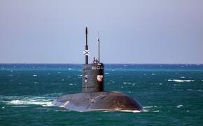 Картинка подводная лодка, Краснодар, «Варшавянка», проекта 636.3, Б-265