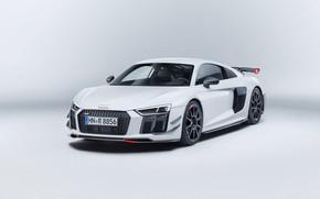 Обои Audi R8, Audi, car, logo