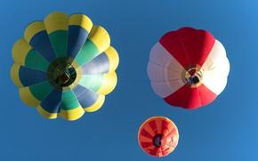 Картинка небо, шары, спорт