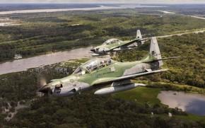 Картинка учебный, A-29, лёгкий штурмовик, Super Tucanos