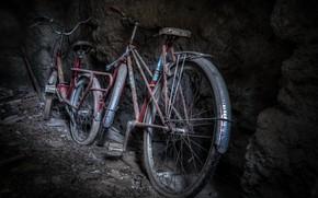 Картинка фон, погреб, велосипеды