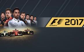 Картинка car, sport, game, race, man, speed, poster, pilot, fast, uniform, seifuku, E3 2017, F1 2017