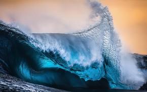 Картинка море, волны, брызги, океан, волна