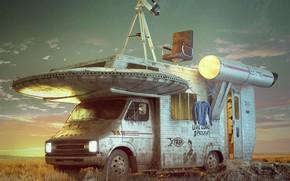 Картинка автомобиль, оборудование, исследования, to boldly go where no man has gone before