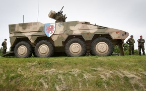Картинка weapon, armored, boxer, military vehicle, armored vehicle, 083, armed forces, military power, war materiel