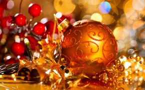 Картинка игрушки, новый год, шар, ель, празднование