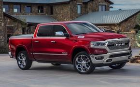 Картинка Dodge, пикап, 1500, Ram, 2019, Limited Crew Cab