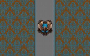 Картинка узор, орел, eagle, Harry Potter, Хогвартс, deviantart wallpapers, Ravenclaw, Когтевран, Hogwarts House, by theladyavatar