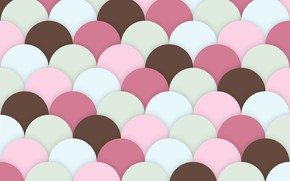 Картинка фон, розовый, текстура, коричневый, морские гребешки