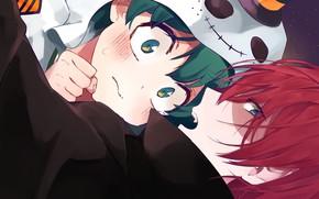 Картинка Boku no Hero Academia, Todoroki Shouto, My Hero Academia, Midoriya Izuku, TodoDeku, Artist Request