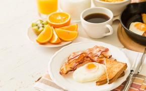 Картинка кофе, еда, завтрак, сок, breakfast