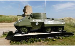 Картинка france, normandy, d-day, ww2. war, ww2 tank, overlord, 2e db