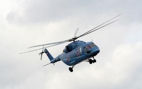 Картинка полёт, вертолёт, helicopter, Ми-38, Mi-38