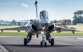 Картинка взлет, многоцелевой истребитель, французский, Rafale, Рафаль