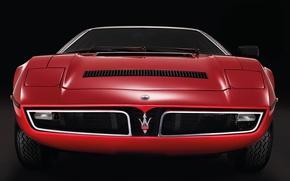 Картинка Maserati, Мазерати, Retro, Bora
