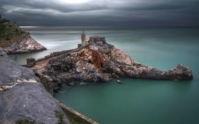 Картинка море, Италия, Лигурия, Portovenere