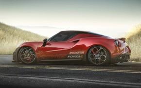 Обои tuning, автомобиль, auto, alfa romeo, тюнинг, car, авто, Yasid Design, Yasid Oozeear, alfa romeo 4c ...