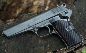 Обои Чехословакия, самозарядный пистолет, Czech CZ52