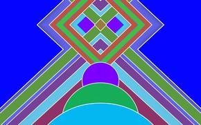 Картинка абстракт, геометрия, фигуры