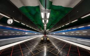 Картинка Metro, Stockholm, Architecture