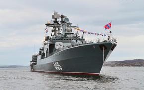 """Картинка ВМФ России, Проект 1155, (БПК) """"Адмирал Левченко"""""""