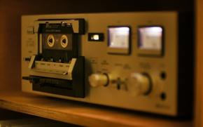 Обои Sansui SC-1100G, SONY UX-S60, стерео, кассета