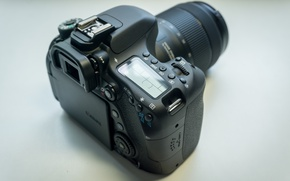 Картинка black, canon, nano, Canon, eos, lens, EOS, dslr, DSLR, 80d, 80D, usm, NANOUSM, eos 80d