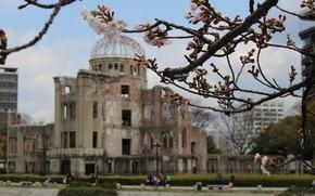 Картинка Japan, war, debris, Nipon, Hiroshima, tragedy, rebirth, Nippon, Nihon