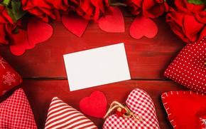 Картинка цветок, любовь, сердце, роза, сердечки, love, romantic, Valentine's Day