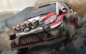 Картинка Toyota Yaris, WRC 7, BigBen Interactives, Pack Shot