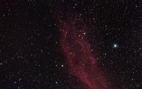 Картинка звезды, nebula, California, NGC 1499