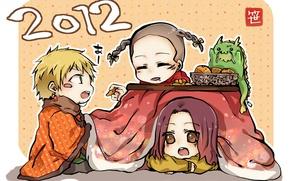 Картинка аниме, Beelzebub, Вельзепуз, Kanzaki Hajime, Shiroyama Takeshi, Natsume Shintarou