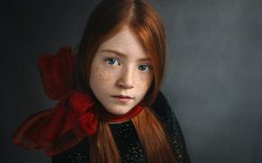 Картинка портрет, девочка, веснушки, Freya