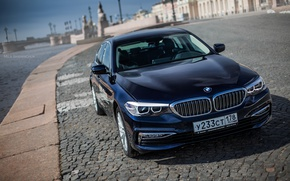 Картинка car, машина, авто, city, туман, гонка, bmw, бмв, тачка, спорт кар, автомобиль, need for speed, …