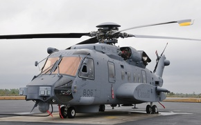 Обои helicopter, AgustaWestland, Canada, attack helicopter, Sikorsky CH-148 Cyclone