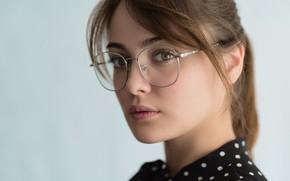 Обои губки, очки, Eugeny Sibiraev, Ph Tabula Rasa, фотограф Tabula Rasa, Евгений Сибиряев, макияж, ретушь