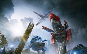 Картинка фантастика, роботы, Power Rangers, Могучие рейнджеры