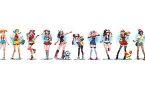 Картинка girl, game, anime, pretty, asian, Pokemon, manga, japanese, oriental, asiatic, bishojo, Pokémon