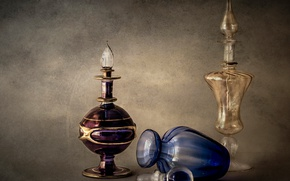Картинка стекло, флакон, натюрморт, парфюмерия
