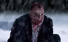 Картинка арт, вампир, 30 дней ночи, 30 Days of Night