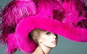 Картинка портрет, Lady Gaga, эпатаж
