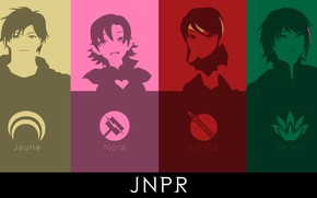 Картинка белый, желтый, зеленый, розовый, green, черный, аниме, арт, red, white, black, yellow, pink, anime, мультсериал, …