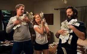 Картинка cinema, The House, movie, money, dollar, film, Amy Poehler, Will Ferrell, Jason Mantzoukas