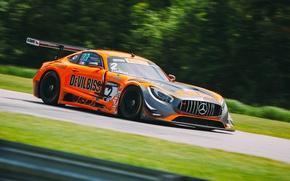 Картинка гонка, скорость, Mercedes, AMG GT3